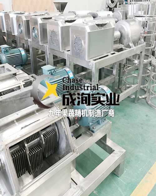 果蔬破碎机哪里好 灌装饮料生产线交钥匙工程 上海成洵实业有限公司