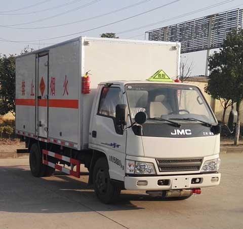 二类危险品运输车/厢式危险品运输车种类/襄阳东宇专用汽车有限公司