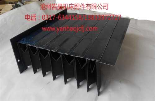机床防尘罩价格_升降平台方形防尘罩_沧州岩昊机床附件有限公司