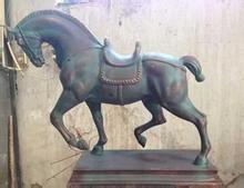 优质玻璃钢马雕塑订购-人物彩绘雕塑哪家好-大安区兴利玻璃钢制品厂