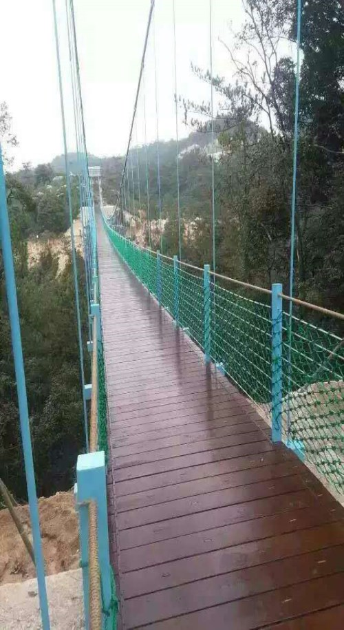 西藏悬索桥厂家施工/景区悬索桥/木板悬索桥