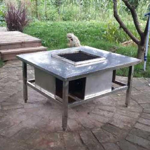 公用无烟烧烤桌商家_烧烤桌架供给_云南创厨实业无限公司
