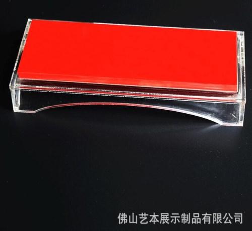 有机玻璃岗位牌/亚克力三角会议牌/佛山艺本展示制品有限公司