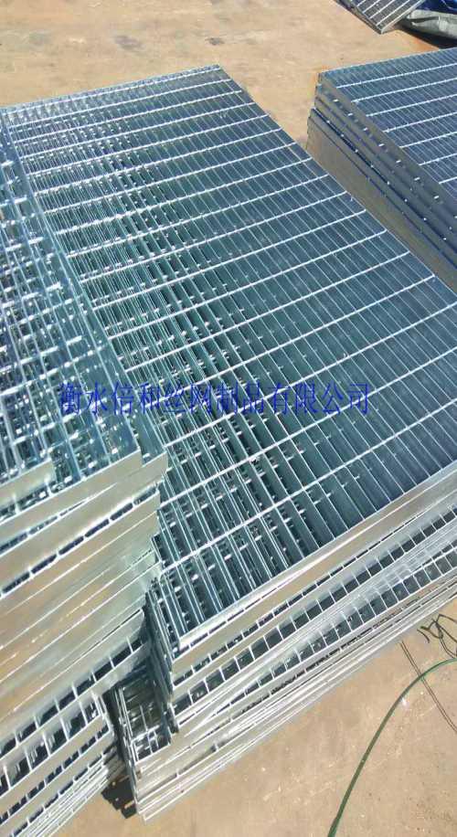 库存钢格板/基坑护栏铁马型号/衡水倍和丝网制品有限公司