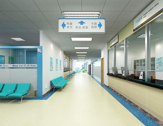口腔医院装饰单位/美容手术室装修设计/广东省满大装饰工程有限公司