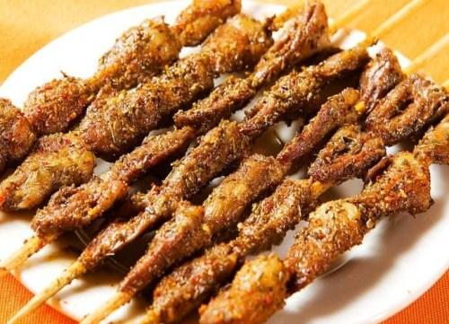 羊肉串做法-昆明羊肉火锅做法-昆明市五华区黑为鲜羊肉馆
