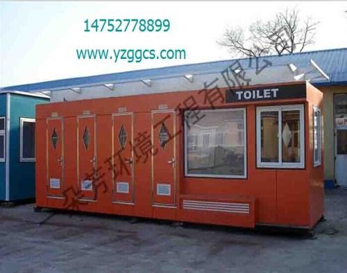 如皋移動廁所廠家/車載移動廁所/揚州一朵芳環境工程有限公司