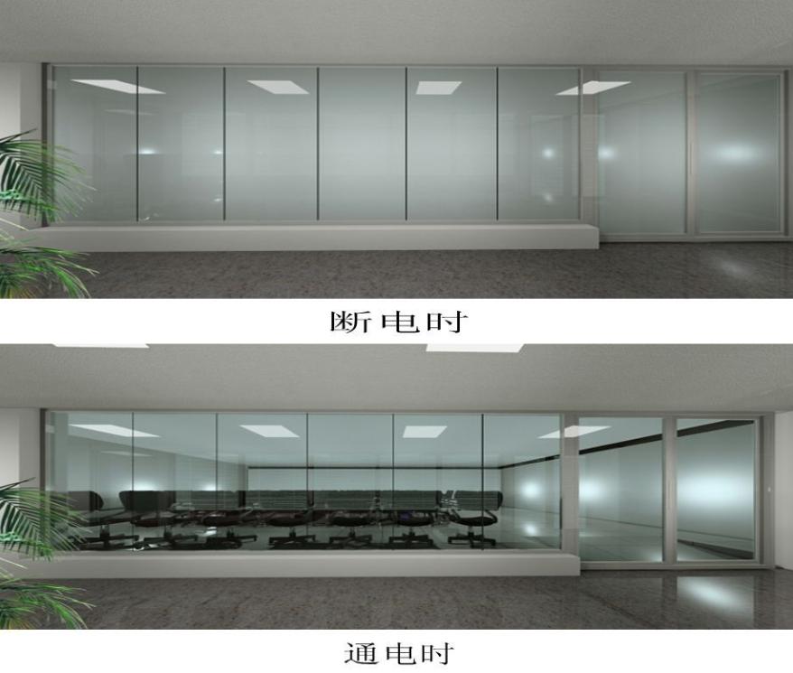 雾化玻璃 优质旅店调光玻璃隔绝重磅优惠来袭 正宗雾化调光玻璃效劳商