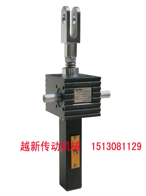 推杆螺旋升降机_冷弯设备减速机_沧州越新机械设备有限公司