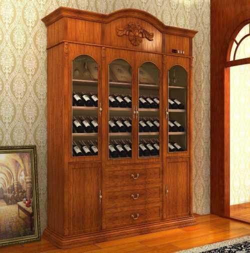 餐厅酒柜装修效果图_现代酒柜图片_成都白马王子家居有限公司
