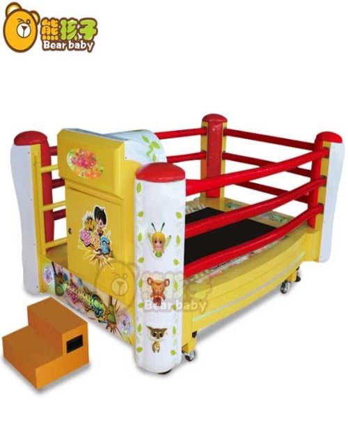 室内淘气堡加盟服务商 儿童乐园 正宗小型摇摆机定制
