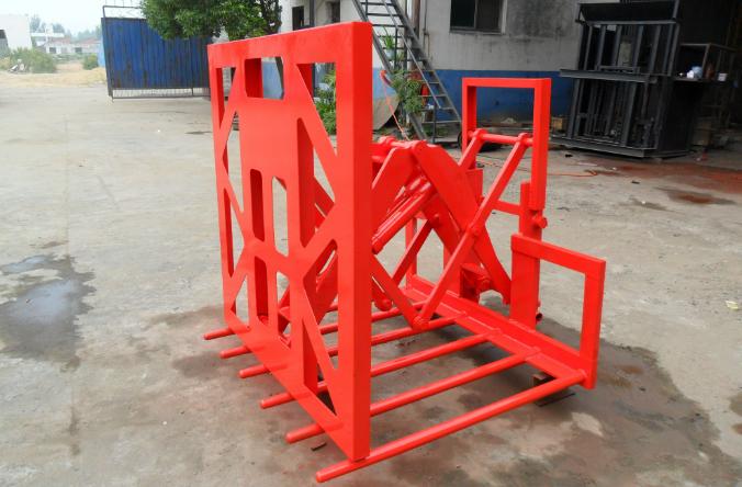 叉车推出器-吊袋零售-南阳市华邦机器制造无限公司