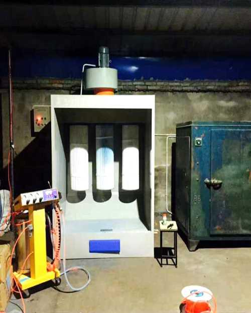 粉末回收机设备 环保型汽车烤漆房厂家 济南龙飞烤漆设备有限公司