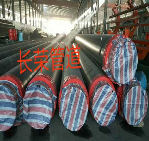 预制直埋大口径聚氨酯保温钢管/219-3620螺旋钢管报价/河北长荣管道制造公司