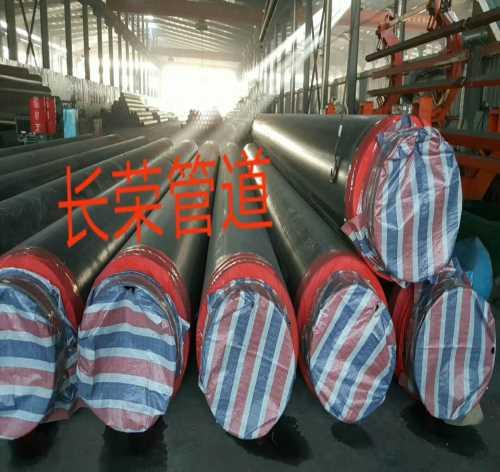 大口径高密度聚氨酯保温钢管-5037石油部标螺旋钢管-河北长荣管道制造公司