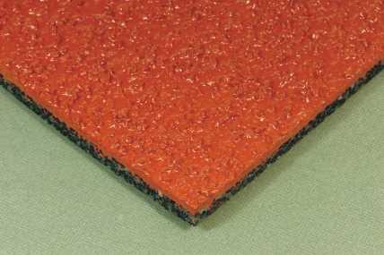 高品质鸿实复合型塑胶跑道厂家诚信经营 我们推荐硅PU球场厂家物有所值