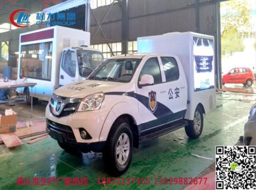 安全交通宣传车/双排座随车吊运输车/程力专用汽车股份有限公司