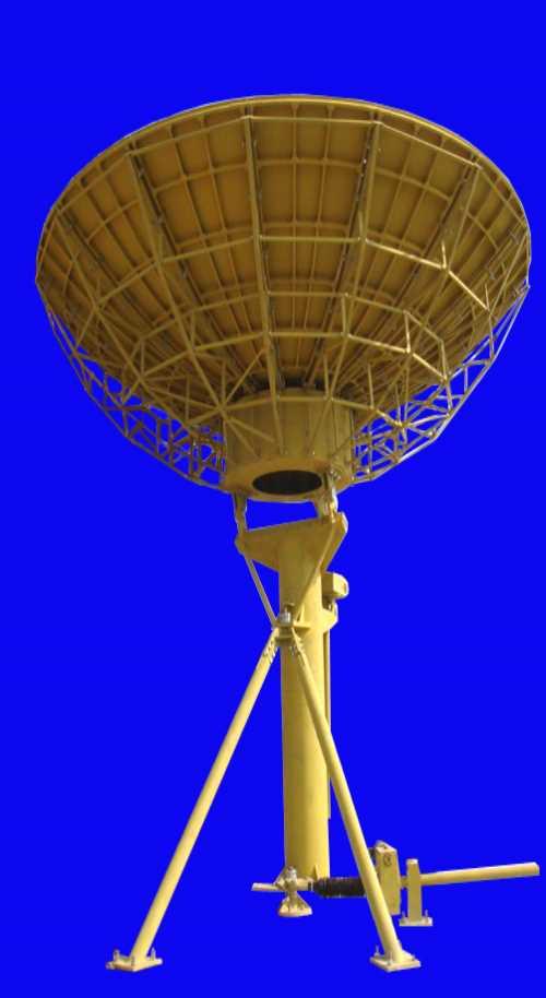 2.4米通信卫星天线