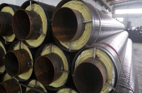 专业钢套钢蒸汽保温管 325-720TPEP涂塑复合钢管厂家 河北长荣管道有限公司