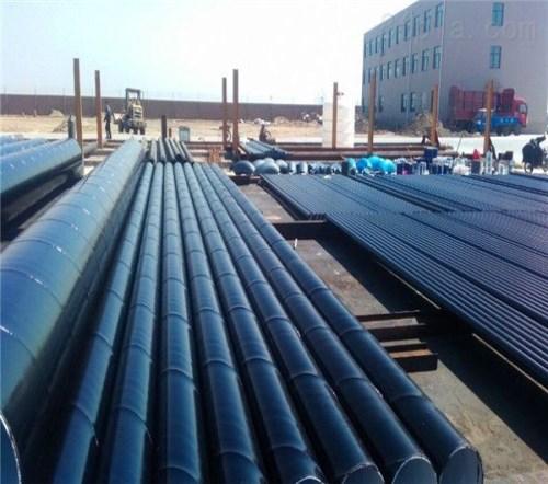 环氧煤沥青防腐管道 黑皮子保温管生产厂家 河北长荣管道有限公司
