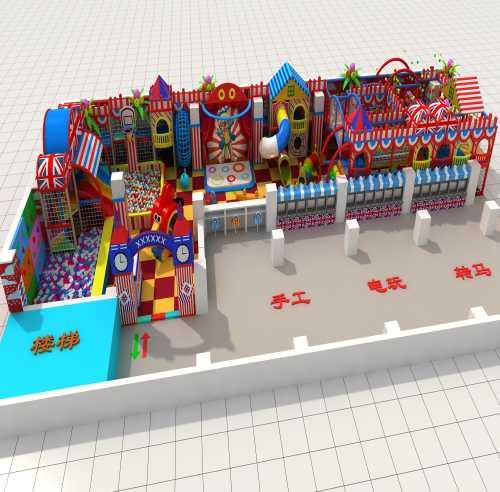 室内_黑龙江儿童游乐土亲子设备_佛山市文曲星儿童游艺设置装备摆设无限公司
