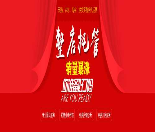 广州网店托管代运营公司_行业信息网