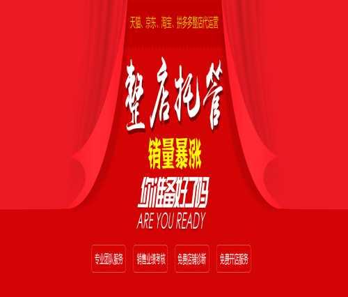 天猫代运营公司/淘宝代运营公司收费/广州市思淘网络科技有限公司