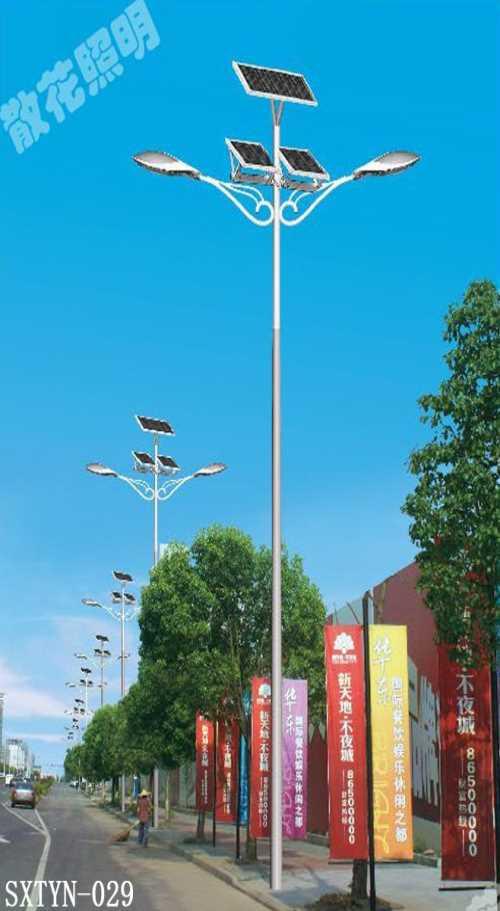 西安太阳能路灯多少钱-西安新农村6米的太阳能路灯多少钱-陕西散花电气照明工程有限公司