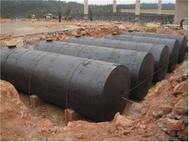 3吨地埋罐_2吨储罐销售-新乡市平安容器厂