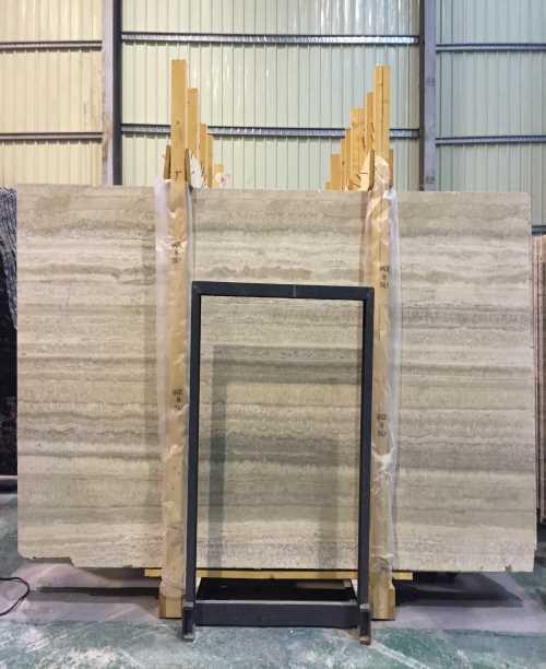 天然连卡佛洞石报价-卡拉白薄板大板图片-云浮市创业石材有限公司