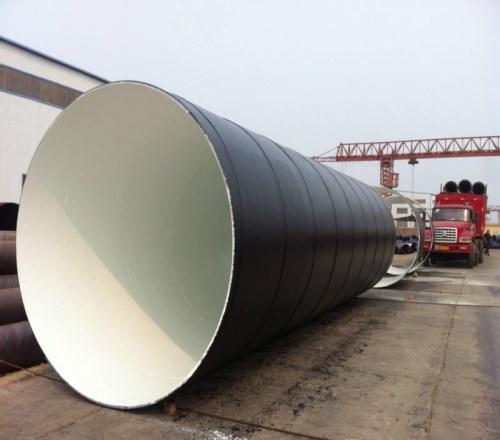 3pe螺旋钢管供应-专用TPEP钢管制造厂家-河北长荣管道制造有限责任公司