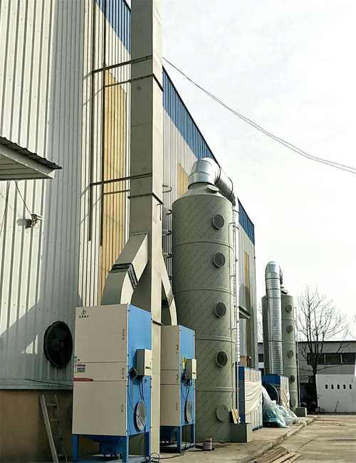 油漆废气净化器_喷淋塔厂家_济南环博伟业环保设备有限公司