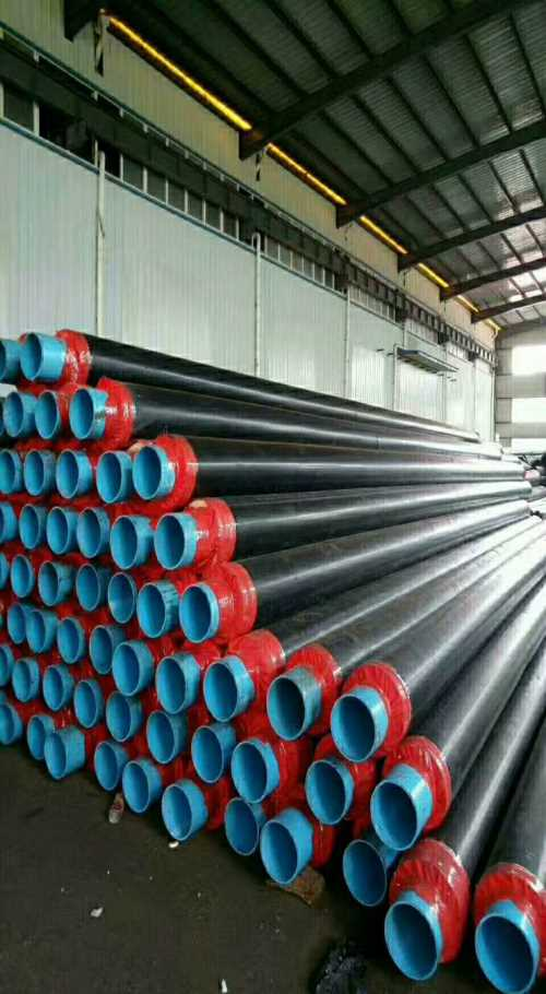 河北聚氨酯保温钢管/沧州排污水大口径螺旋钢管价格/河北长荣管道制造公司