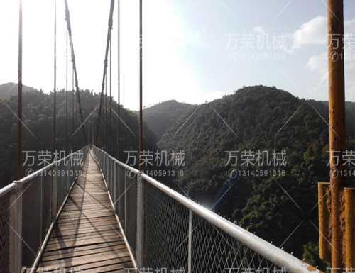 福建木板吊桥施工_景区其他游艺设施