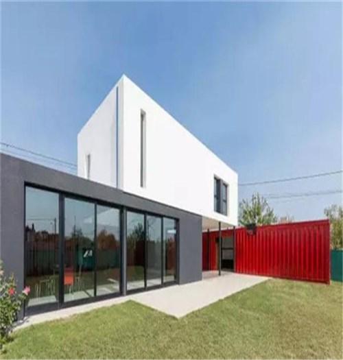 西安集装箱组合地址-中式风格轻钢别墅-山西盛大钢