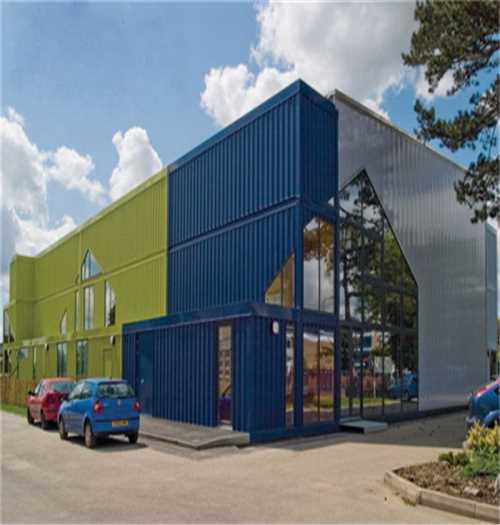 建筑,建材 西安集装箱组合地址-中式风格轻钢别墅-山西盛大钢结构工程