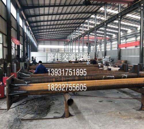 道路标志杆制造 悬臂标志杆生产厂家 沧州路佳交通设施有限责任公司