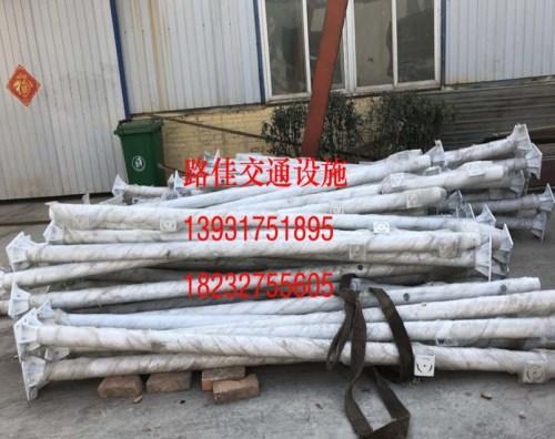 天津悬臂标志杆价格 交通标志杆厂价格 沧州路佳交通设施有限责任公司