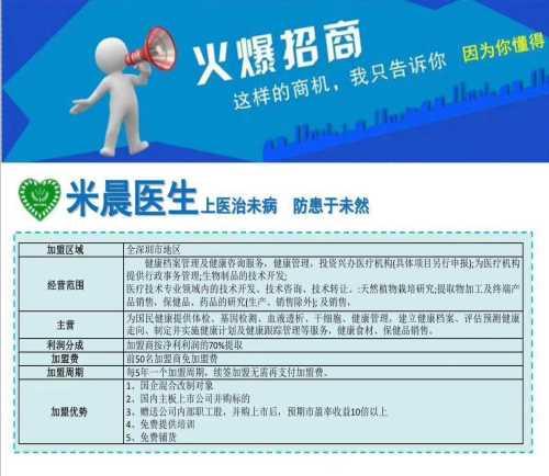 米晨基因分类/生化检测/深圳市米晨健康俱乐部合伙企业(有限合伙)