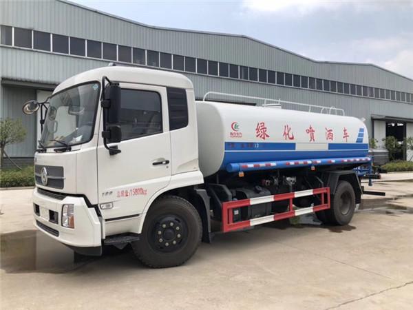 绿化喷洒车销售 6吨水车 程力专用汽车洒水车厂