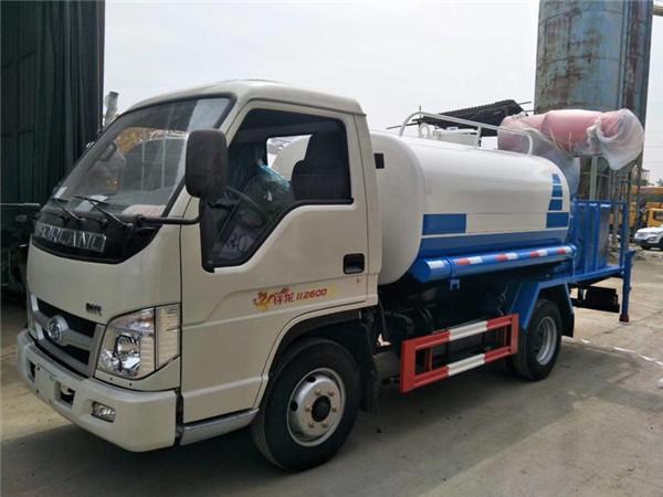 天龙喷洒车_解放水车_程力专用汽车洒水车厂