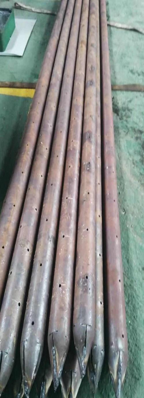 桥梁注浆钢花管/护坡锚杆价格/聊城市永上钢管有限公司