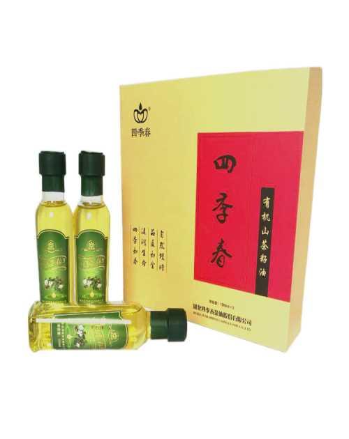 正宗山茶油工厂/哪里有山茶油会员加盟合作/湖北四季春茶油股份有限公司
