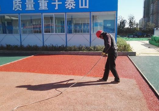 东营透水地坪保护剂 山东混凝土透水地坪 山东新里程环保科技有限公司