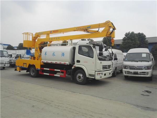 小型水车报价 排水洒水车 程力专用汽车洒水车厂