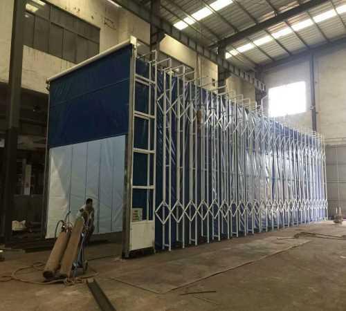 高品质移动式伸缩房服务商 工业废气处理除臭设备厂家直销