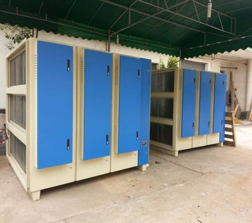 油漆废气处理/移动式伸缩房/济南义生利环保设备有限公司