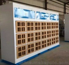 干式喷漆台-水帘柜喷漆台-济南义生利环保设备有限公司
