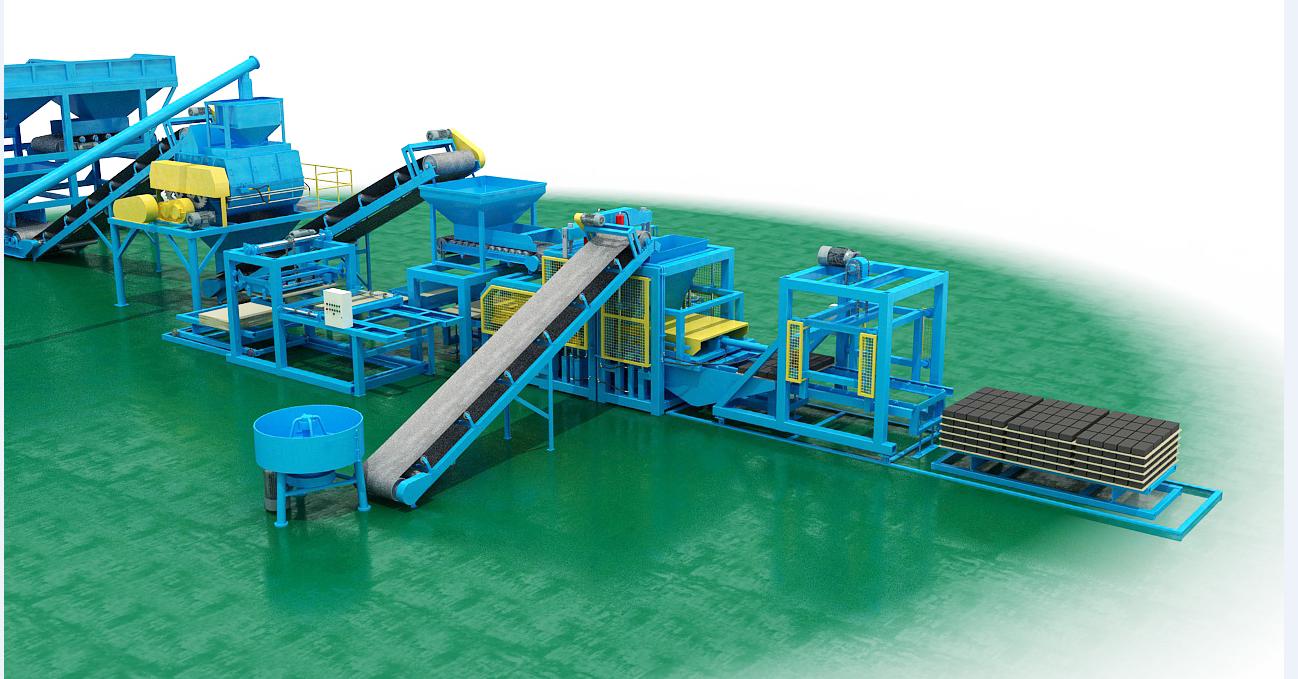全自动砖机报价 码垛机 上海展生环保设备厂