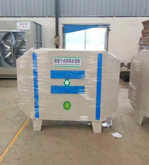 不锈钢喷淋塔废气处理设备 VOCS光氧催化设备 济南首创环保工程有限公司